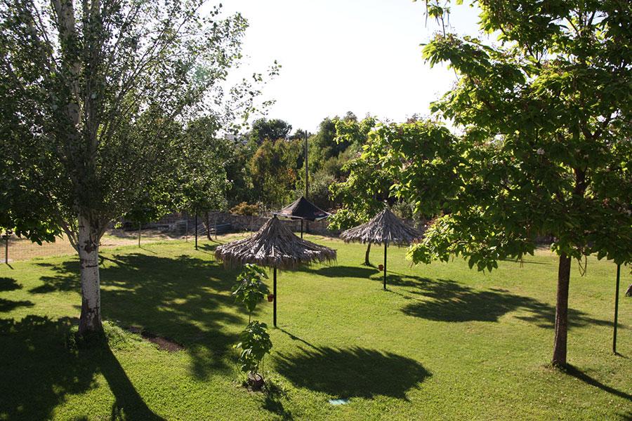 Zonas de Sombra Piscinas Camping Cáceres