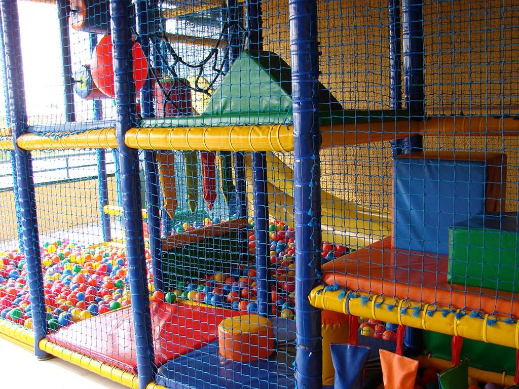 Parque Infantil de Bolas en Camping Cáceres