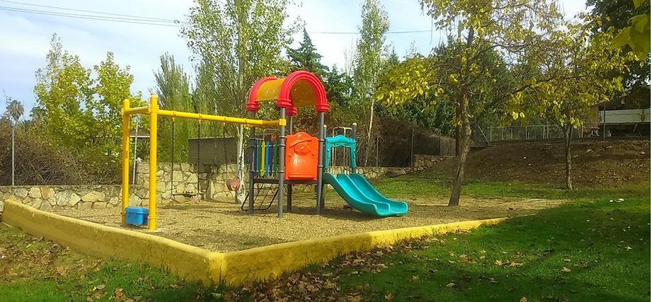Parque Infantil Camping Cáceres
