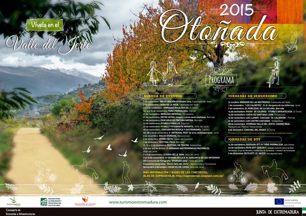 Otoñada 2015 en el Vale del Jerte
