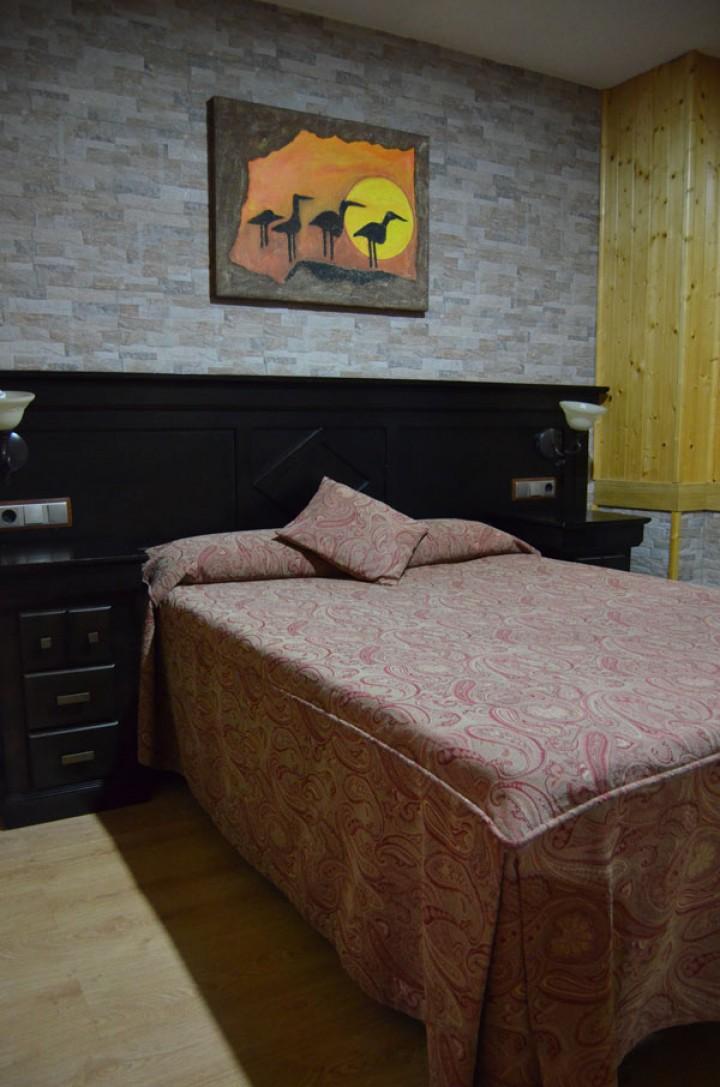 Bungalow 2 Dormitorios Cama de Matrimonio - Dormitorio Principal