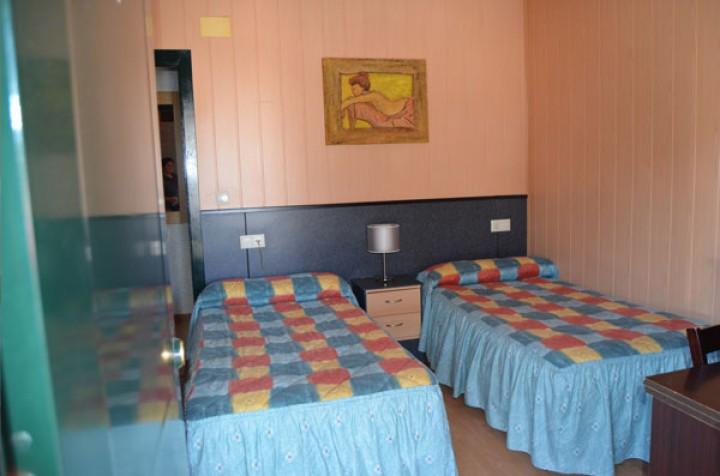 Habitación Doble con dos camas individuales