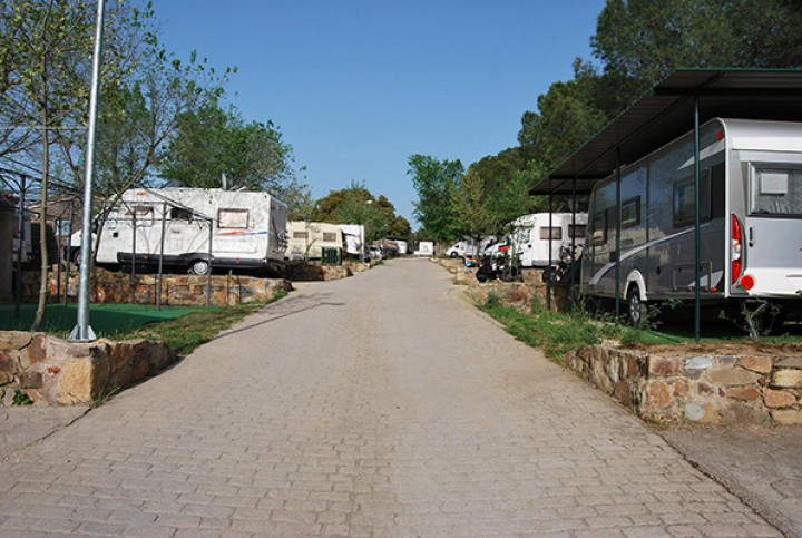 Parcelas Camping Cáceres
