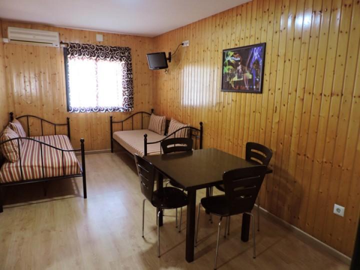Bungalows 1 dormitorio - Salón
