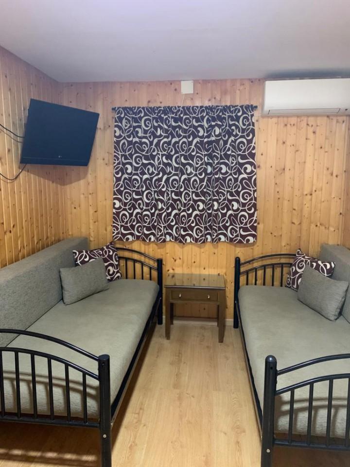 Bungalows 1 dormitorio - Salón con sofás cama